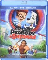 peabody sherman 3d blu ray