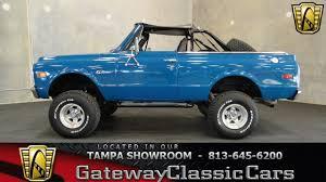Classic Chevrolet Lifted Trucks - 1971 chevrolet blazer k5 gateway classic cars tampa 218 youtube