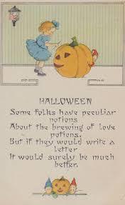 286 best vintage halloween cards images on pinterest vintage