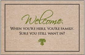 funny welcome still want in doormat