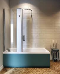 Whirlpool Bath Shower Combination Built In Bathtub Shower Combination Rectangular Acrylic Pop