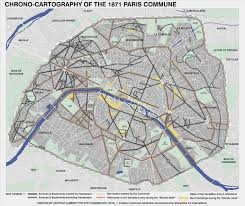 Notre Dame Campus Map History Chrono Cartography Of The 1871 Paris Commune The