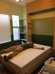 Lifting Bed Frame by Junk In Their Trunk Diy Murphy Bed Wall Bed