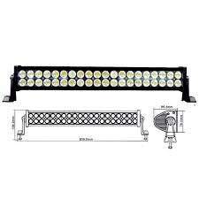 24 inch led light bar offroad inch 120w led work light bar offroad dc12 24v for atv boat jeep 4x4