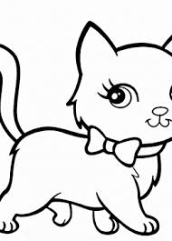 cat coloring pages kids prinable free cat printables
