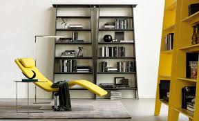 lacquered mdf bookcase estoril by cattelan italia design gino carollo
