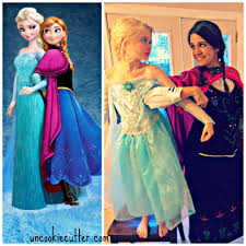 frozen costumes no sew frozen costume for cheap frozen costume
