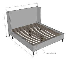 king size bed frame ideas home design ideas
