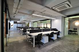 Cool Raw Office Design  Open Work Area Opal Office Inspiration - Cool home office designs