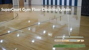 Bona Laminate Floor Cleaner Kit Gym Floor Cleaning System Supercourt System Youtube
