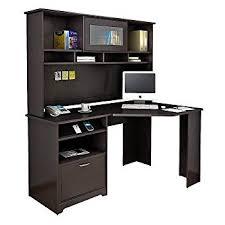 Bush Furniture Wheaton Reversible Corner Desk Bush Furniture Cabot Corner Desk With Hutch In