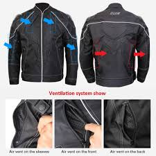 motorcycle jackets for men with armor amazon com ilm motorcycle jackets carbon fiber armor shoulder