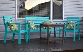 our deck makeover part 1 painting deck furniture a pretty life