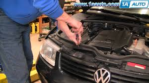 how to install replace headlights and bulbs 98 01 vw passat 1aauto