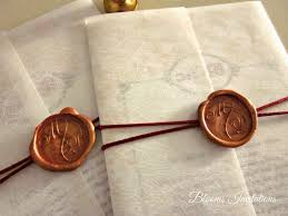 wedding invitations stamps wax seal wedding invitation can get them at art friends at the