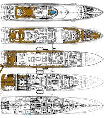 yacht floor plans anastasia layout oceanco motor yacht superyachts com