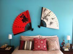 oriental fans wall decor vintage chinese japanese hand held floral print folding silk bamboo