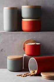 Cool Kitchen Canisters Modern Canisters Keep Your Food And Decor Fresh With These 13