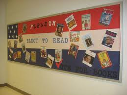 a new election vote bulletin board i created for the library