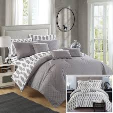 10 Pc Comforter Set Amazon Com Chic Home 10 Piece Comforter Set Including 4 Piece
