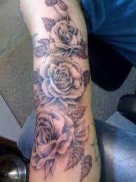21 best black rose arm tattoos for men under images on pinterest