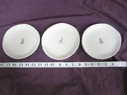 rae dunn by magenta 6 u201d chair ceramic plates lot of 12 what u0027s it