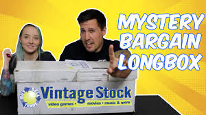 mystery bargain long box from vintage stock youtube