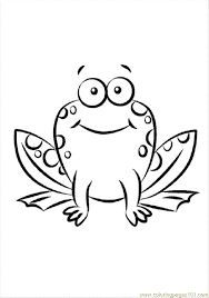 Printable Frog Pictures 351348 Frog Colouring Page
