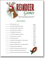 christmas right and left story game by sunnysidecottageart