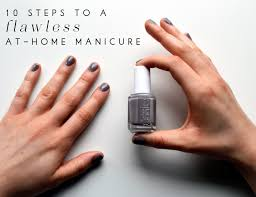 how to master the at home manicure shannon gail weddings and events