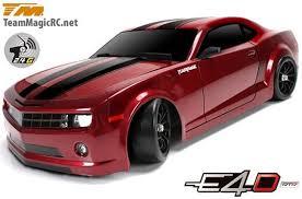 camaro rc car team magic e4d 1 10 electric 4wd drift rtr camaro spec rc