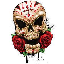 best of skulls temporary sugar skull roses calavera