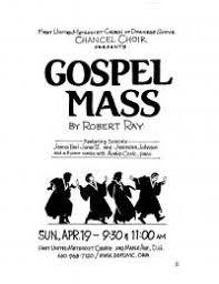 chancel choir cantata gospel mass dgfumc