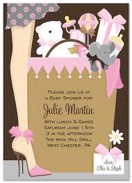 girl baby shower invitations girl baby shower invitation gift bag ba girl invitation myexpression