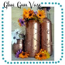 Gun Vase Glue Gun Vase Logo Jpg