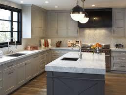 light grey kitchen with oak cabinets 14 best grey kitchen cabinets design ideas with grey cabinets