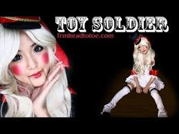 Toy Soldier Halloween Costume Womens Toy Soldier Makeup Images
