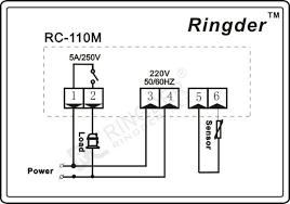 rc 110m digital temperature controller for incubator view digital