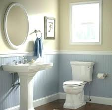 wainscoting bathroom ideas pictures wainscoting bathroom image of wainscoting panels for bathrooms