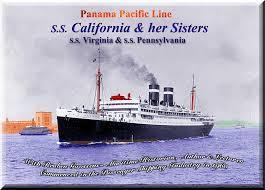 Pennsylvania Travel Steamer images Panama pacific line ss california virginia pennsylvania 1928 jpg