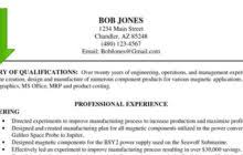 Resume Summary Statement Samples education recentresumes com