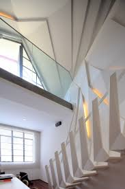 apartments glass fence in great urban interior design ideas with