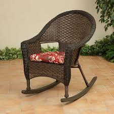 Wicker Rocking Chairs For Porch Stein U0027s Garden U0026 Home The Gerson Company Wicker Rocker