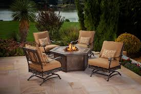 Outdoor Firepit Tables Firepit Table And Chairs Rustzine Home Decor