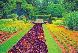 beautiful garden in the world