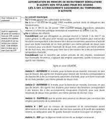 Annexe Iii Modèle D Arrêté Emportant Blâme Les Annexe V Modèle De Délibération Article 3 Accroissement D