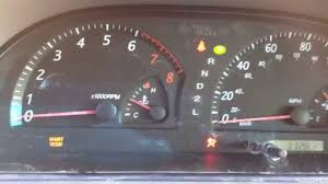 reset oil maintenance light 2000 to 2005 toyota camry youtube