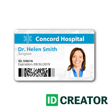 pin by idcreator on healthcare hospital badge pinterest