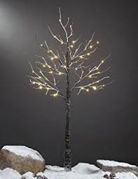 Decorative Trees With Lights Amazon Com Lightshare 3ft 112l Lighted Star Light Tree Warm White