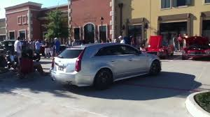 hennessey cadillac cts v wagon hennessey v650 cadillac cts v sport wagon loud revving